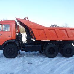Вывоз мусора КамаЗ самосвал г/п-13тн. - 4500 руб. за вывоз