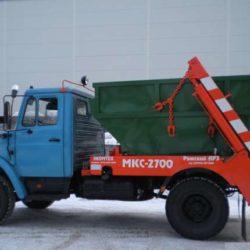Вывоз мусора бункеровозом в Ижевске
