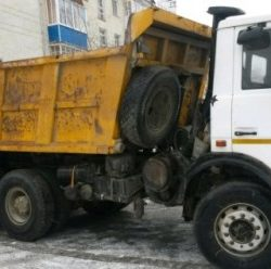 Вывоз мусора МаЗ самосвал г/п - 20тн. – от 5500 руб. за вывоз