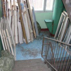 Куда выкинуть старые окна  после замены?