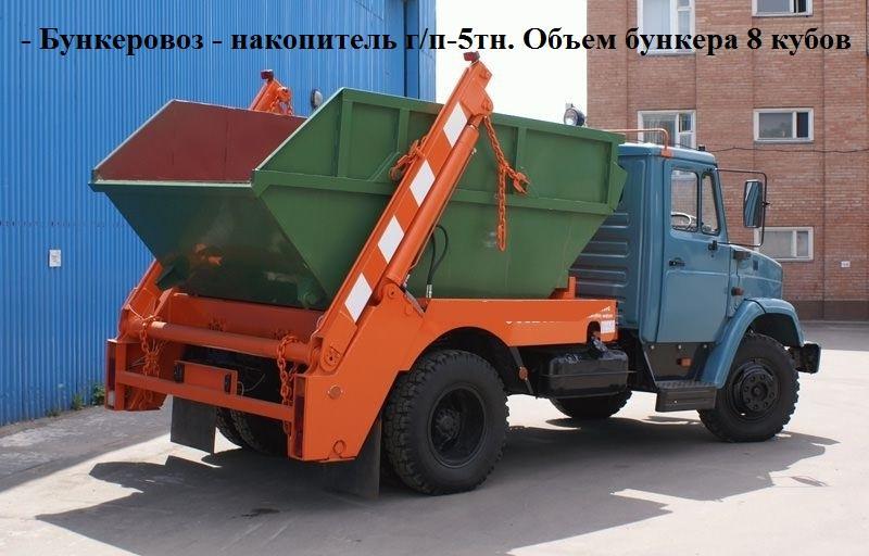 Техника для вывоза мусора