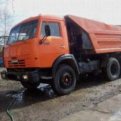 Вывоз мусора КамаЗ самосвал г/п-13тн. - от 4500 руб. за вывоз